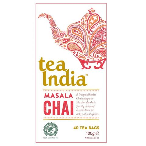 Masala Chai Tea India 100g (40 Tea Bags)